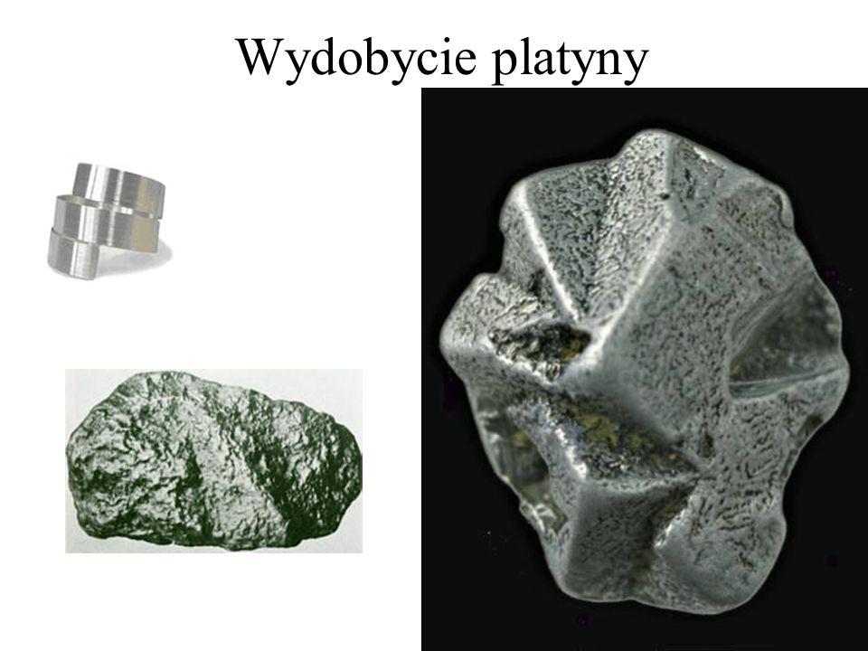 Wydobycie platyny