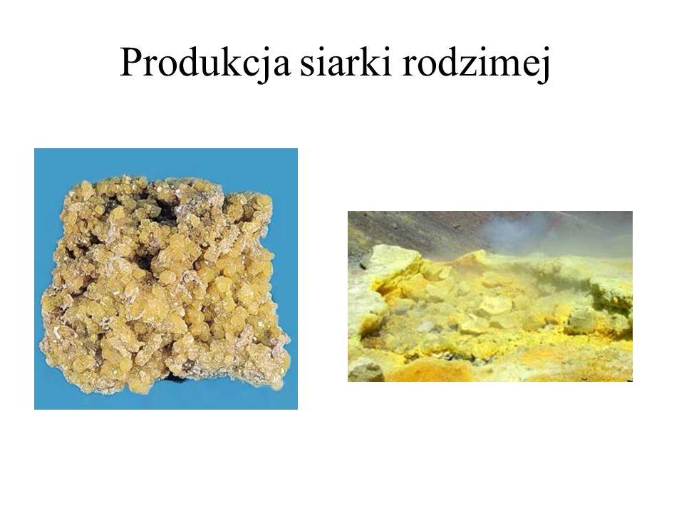 Produkcja siarki rodzimej