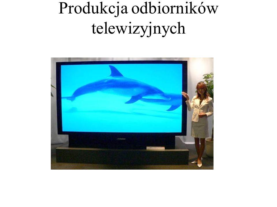 Produkcja odbiorników telewizyjnych