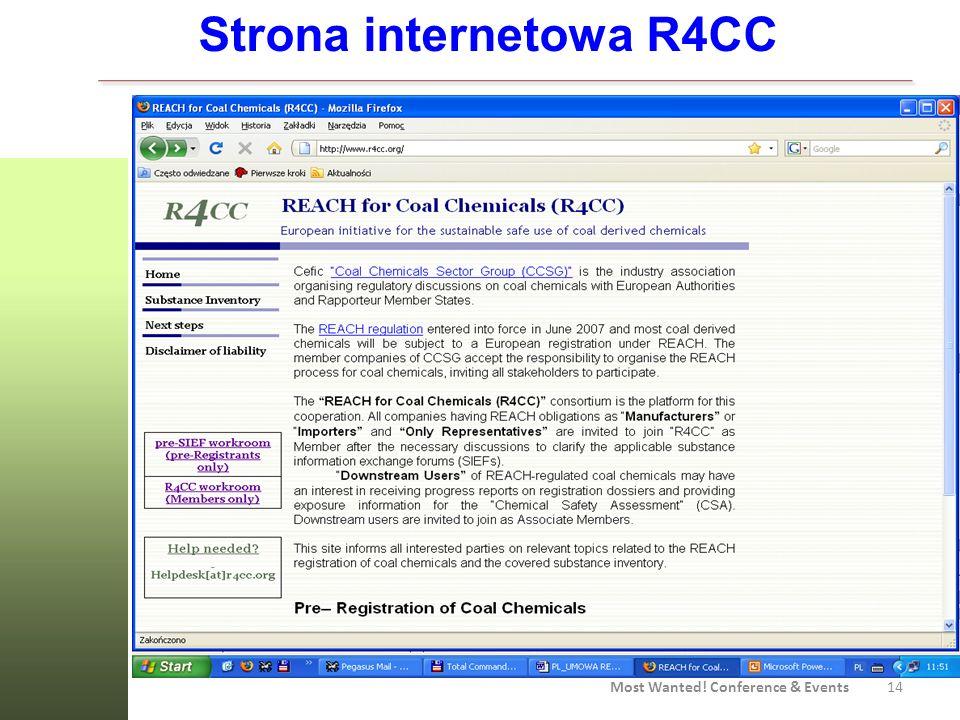Strona internetowa R4CC