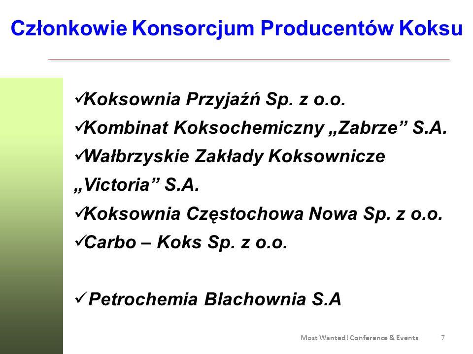 Członkowie Konsorcjum Producentów Koksu