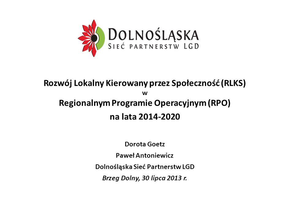 Dolnośląska Sieć Partnerstw LGD