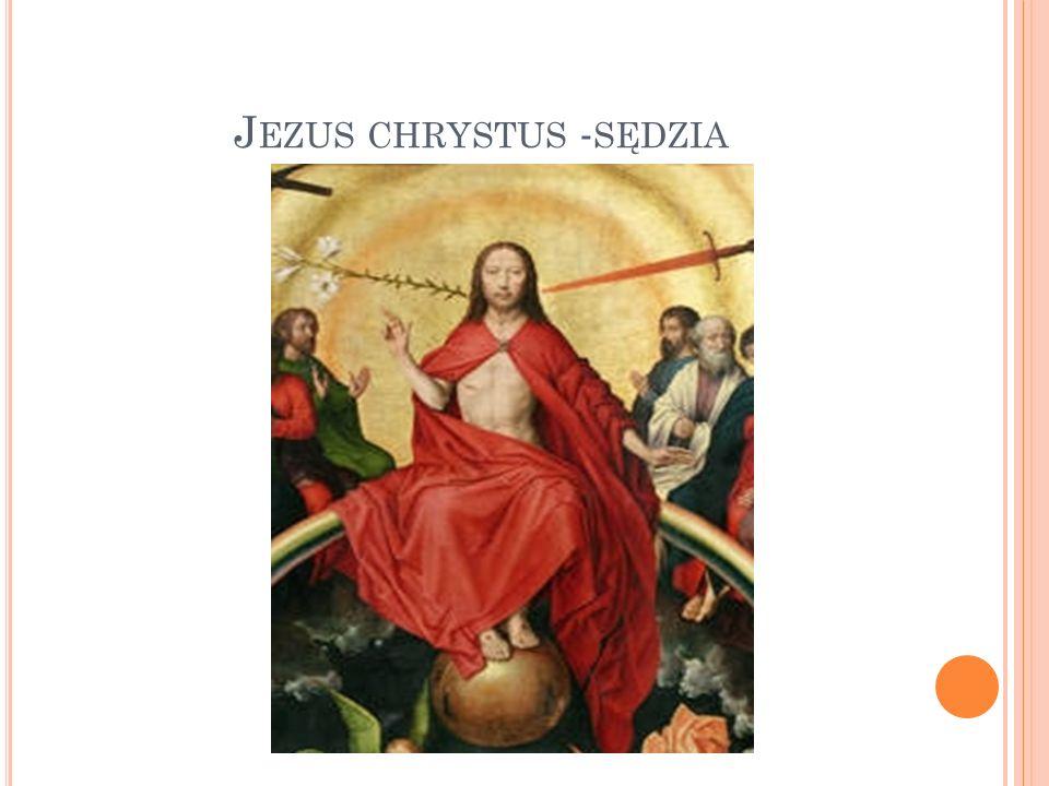 Jezus chrystus -sędzia