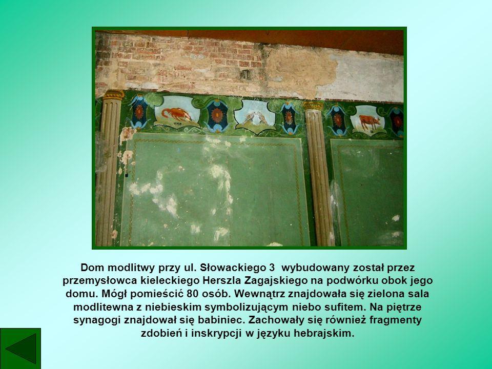 Dom modlitwy przy ul.