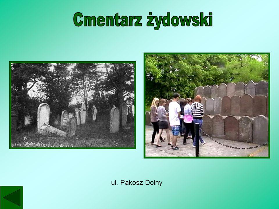 Cmentarz żydowski ul. Pakosz Dolny