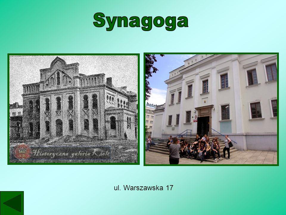 Synagoga ul. Warszawska 17