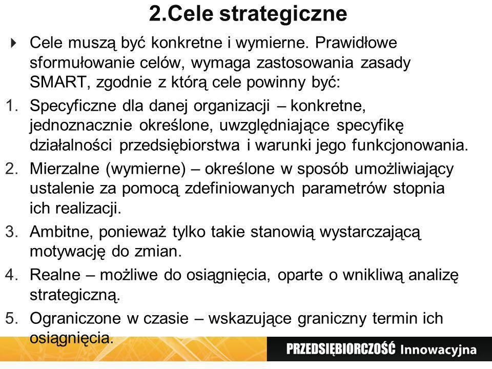 2.Cele strategiczne