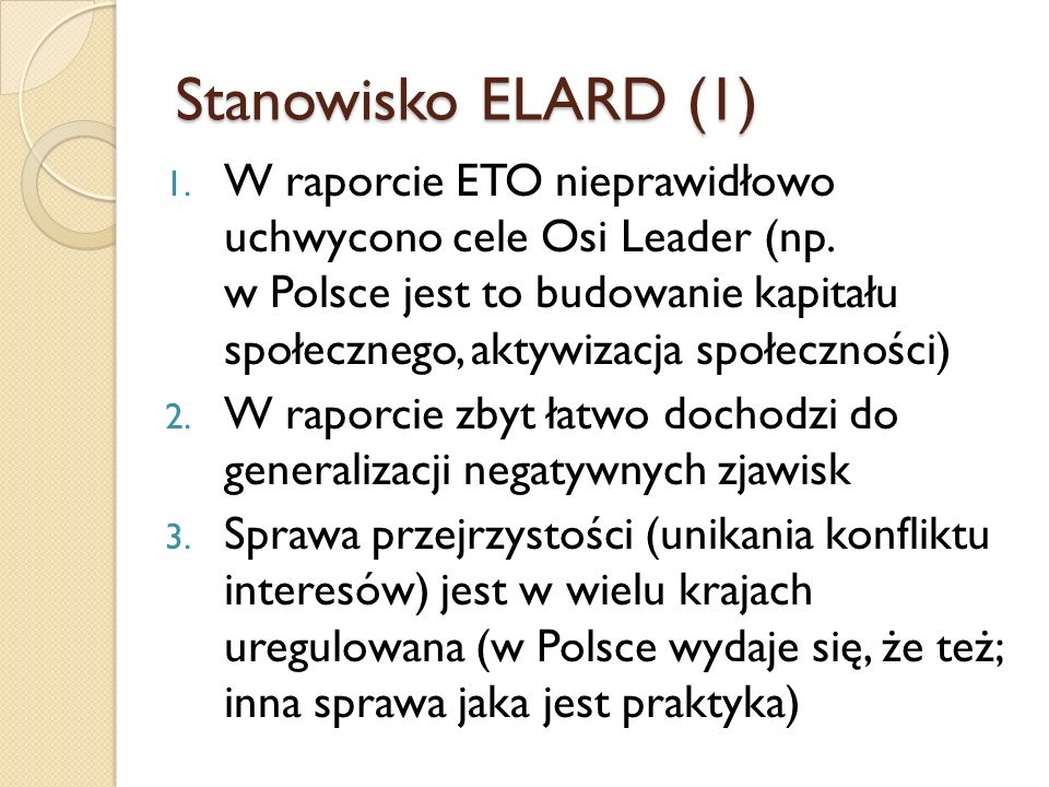 Stanowisko ELARD (1)