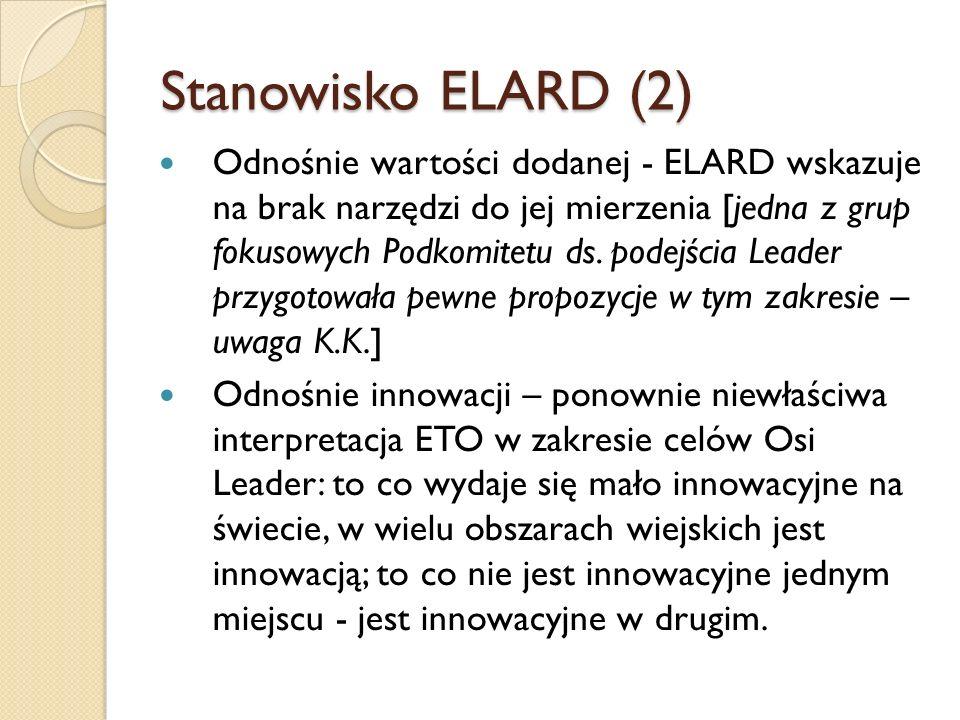 Stanowisko ELARD (2)