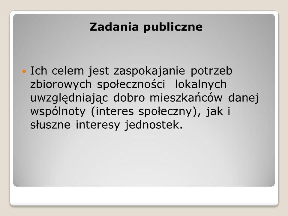 Zadania publiczne
