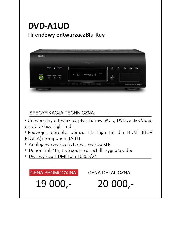 19 000,- 20 000,- DVD-A1UD 4999 zł Hi-endowy odtwarzacz Blu-Ray
