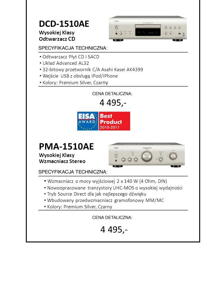 PMA-1510AE DCD-1510AE 4 495,- 4 495,- Wysokiej Klasy Odtwarzacz CD