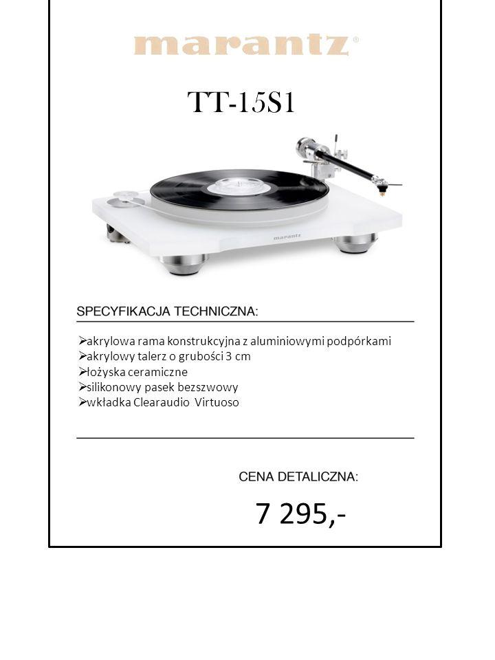 7 295,- TT-15S1 akrylowa rama konstrukcyjna z aluminiowymi podpórkami