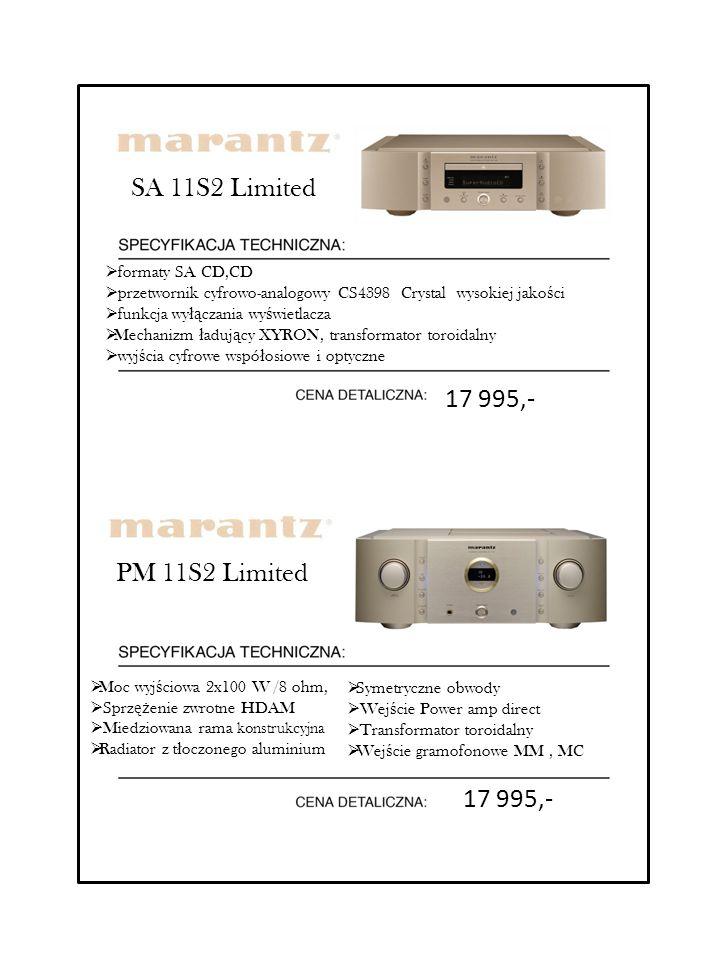SA 11S2 Limited 17 995,- PM 11S2 Limited 17 995,- formaty SA CD,CD
