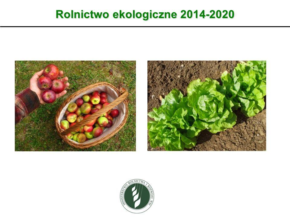 Rolnictwo ekologiczne 2014-2020