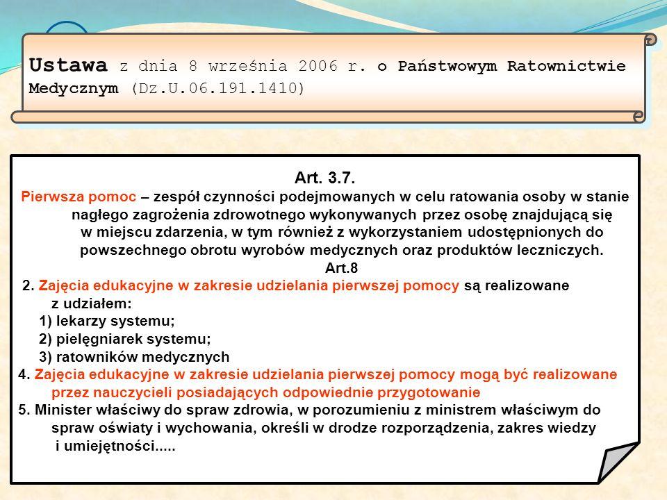 Ustawa z dnia 8 września 2006 r