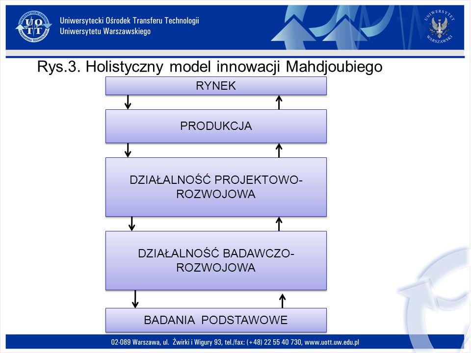 Rys.3. Holistyczny model innowacji Mahdjoubiego