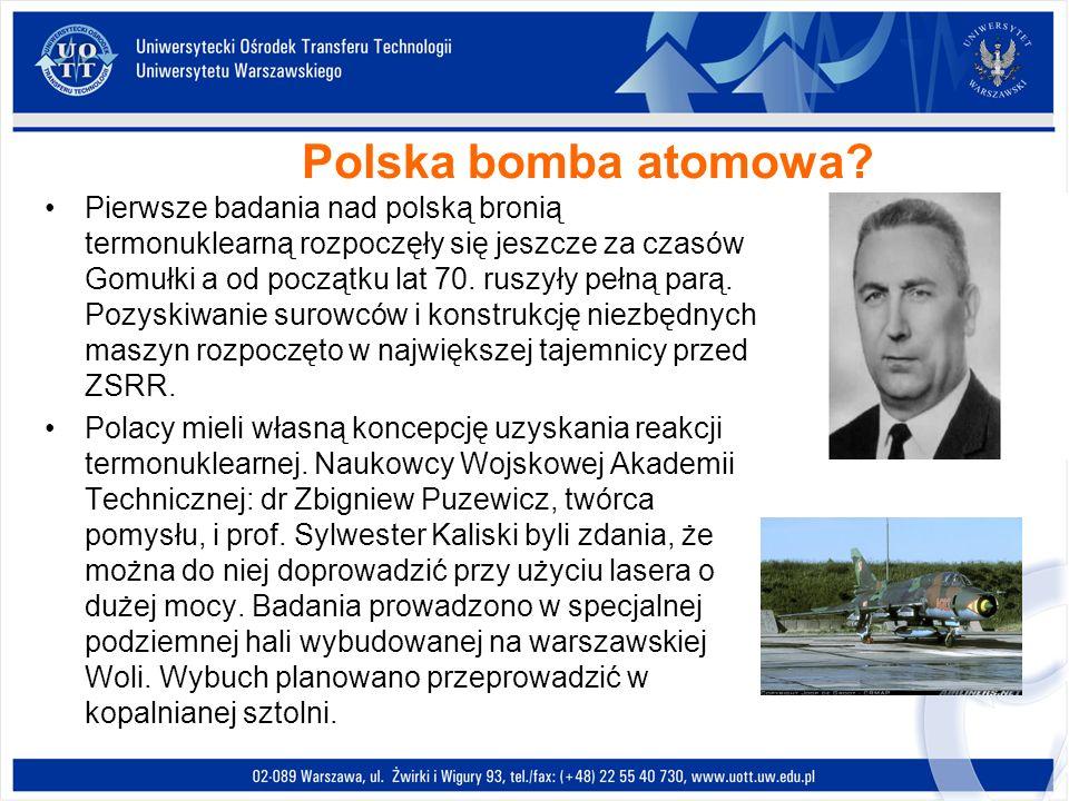 Polska bomba atomowa