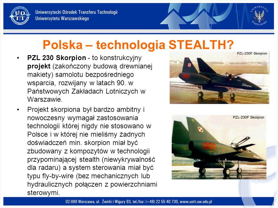 Polska – technologia STEALTH