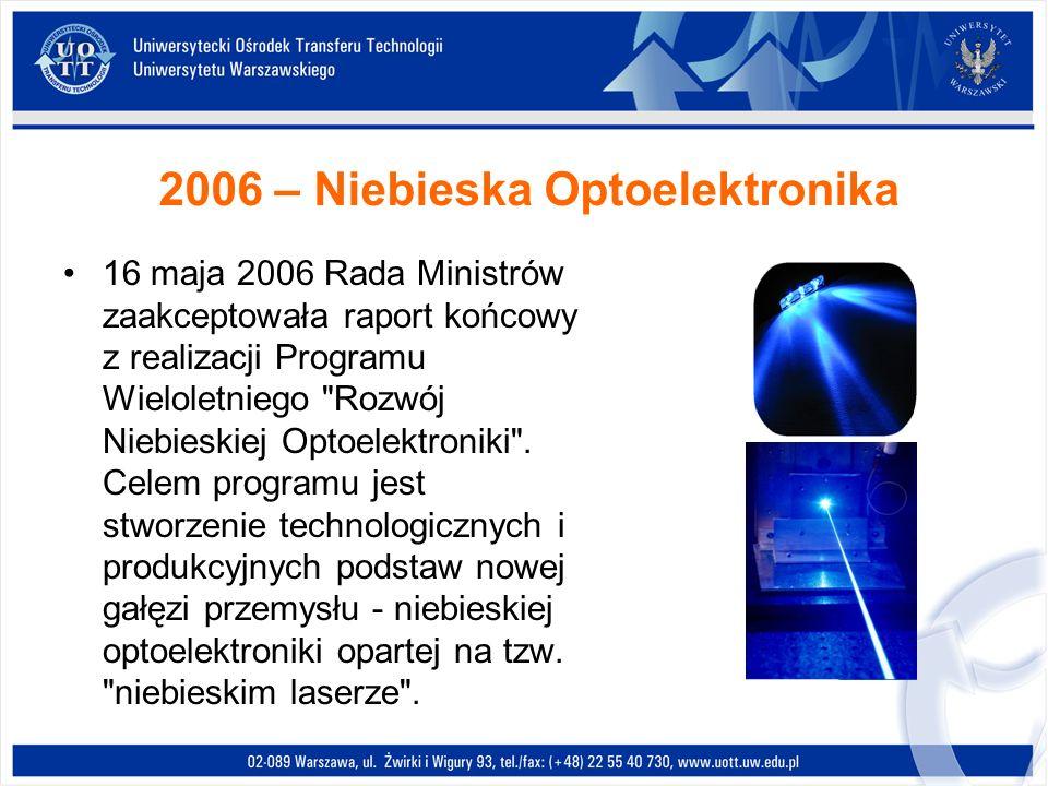 2006 – Niebieska Optoelektronika