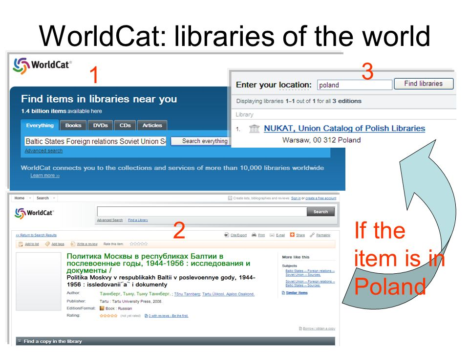WorldCat: libraries of the world
