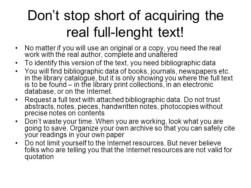 Don't stop short of acquiring the real full-lenght text!