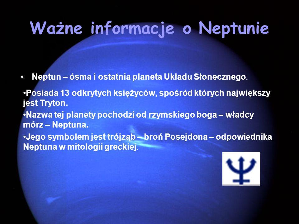 Ważne informacje o Neptunie