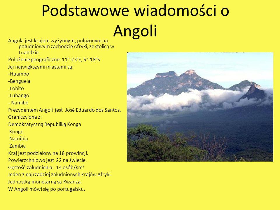 Podstawowe wiadomości o Angoli