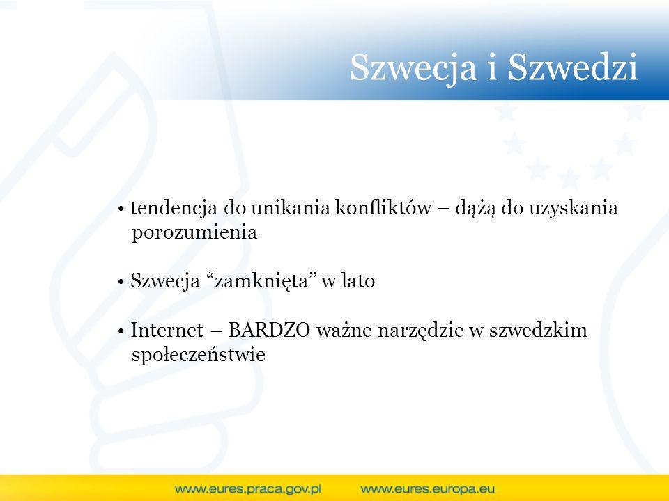 Szwecja i Szwedzi tendencja do unikania konfliktów – dążą do uzyskania porozumienia. Szwecja zamknięta w lato.