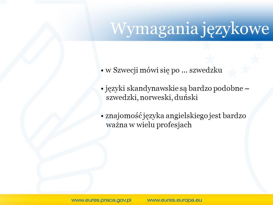 Wymagania językowe w Szwecji mówi się po … szwedzku