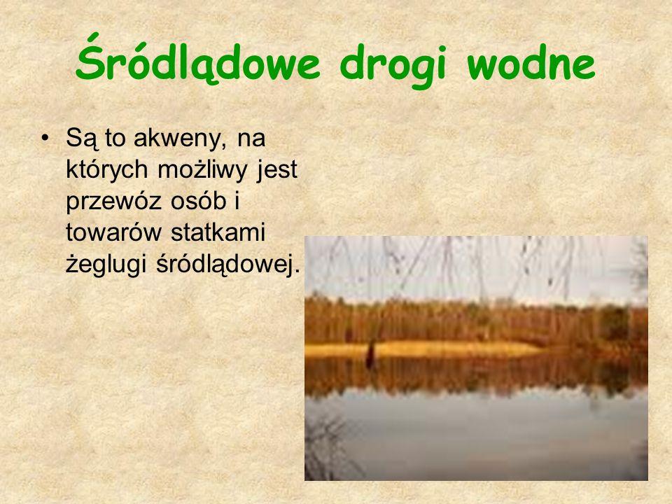 Śródlądowe drogi wodne