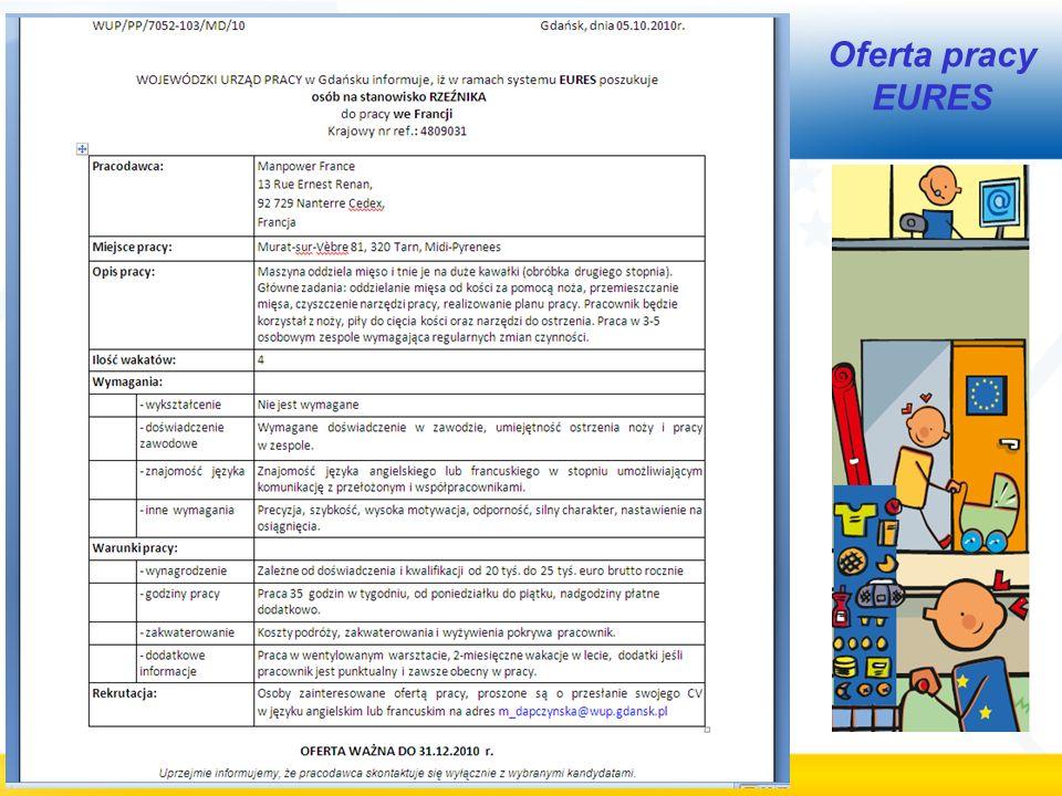 Oferta pracy EURES