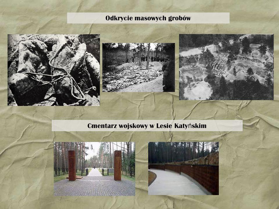 Odkrycie masowych grobów
