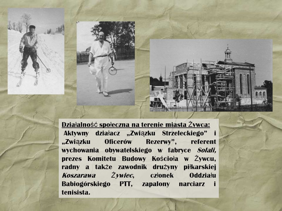 Działalność społeczna na terenie miasta Żywca: