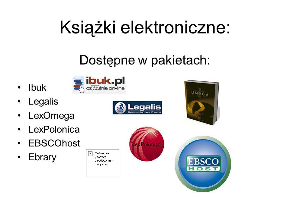 Książki elektroniczne: