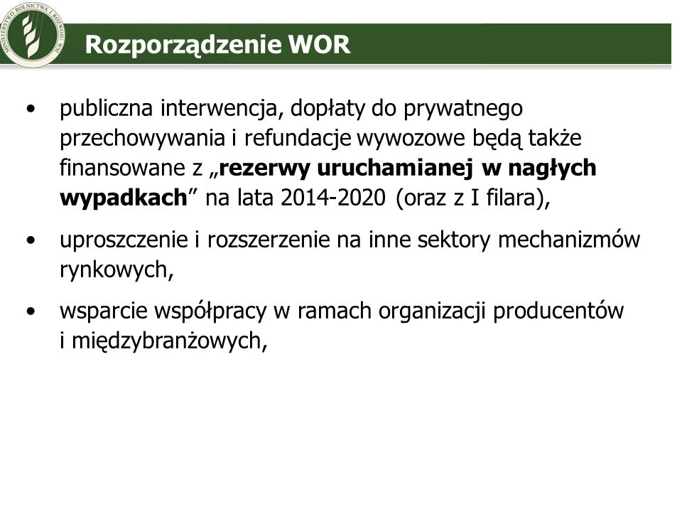 Rozporządzenie WOR
