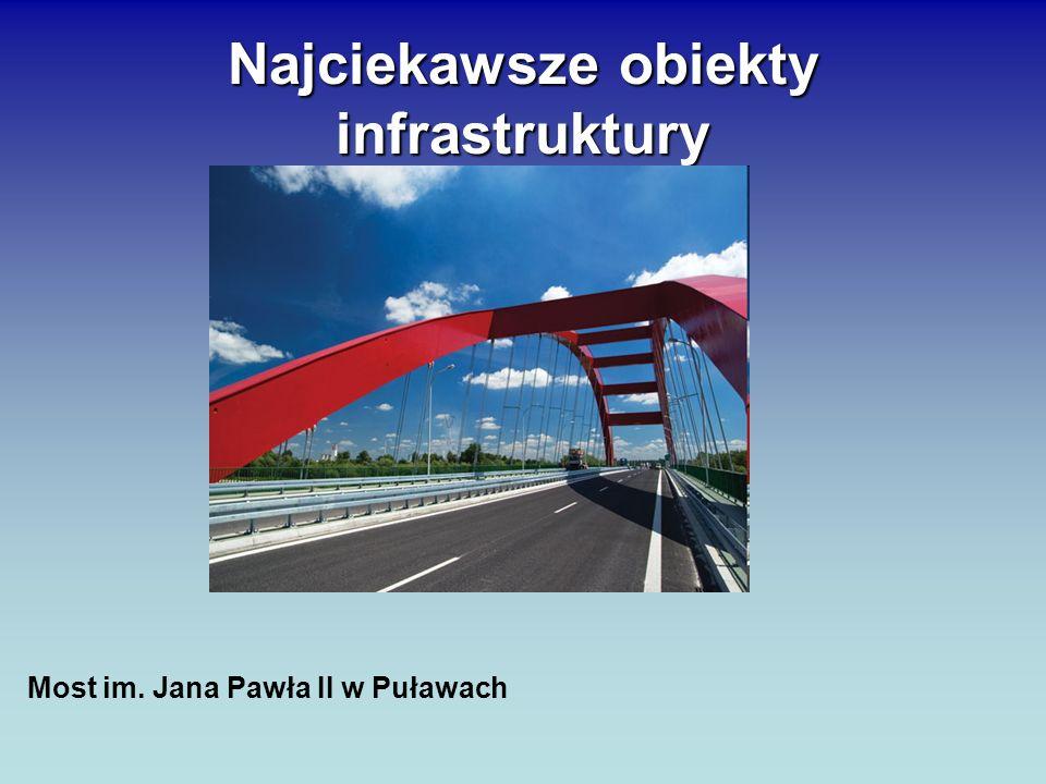 Najciekawsze obiekty infrastruktury