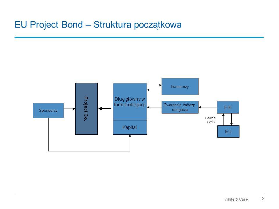 EU Project Bond – Struktura początkowa