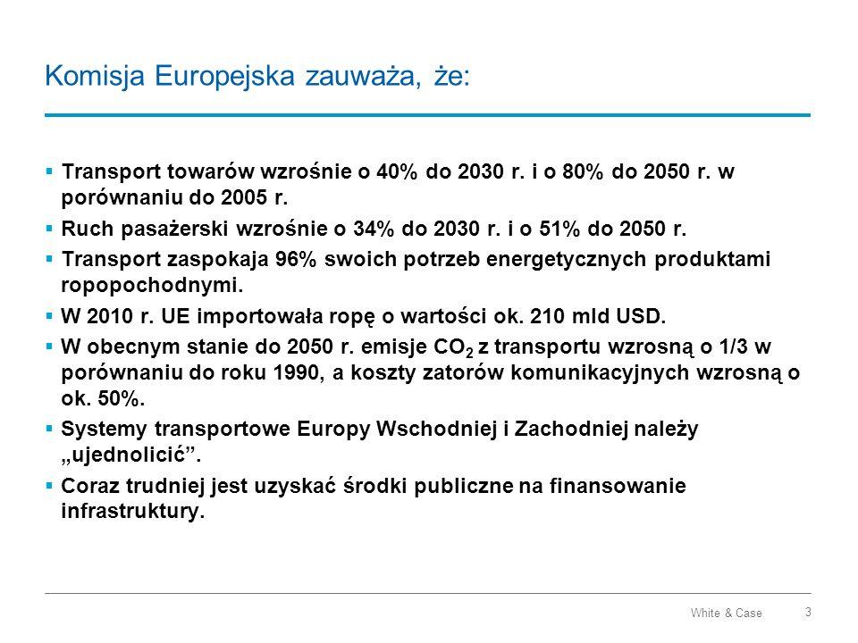 Komisja Europejska zauważa, że: