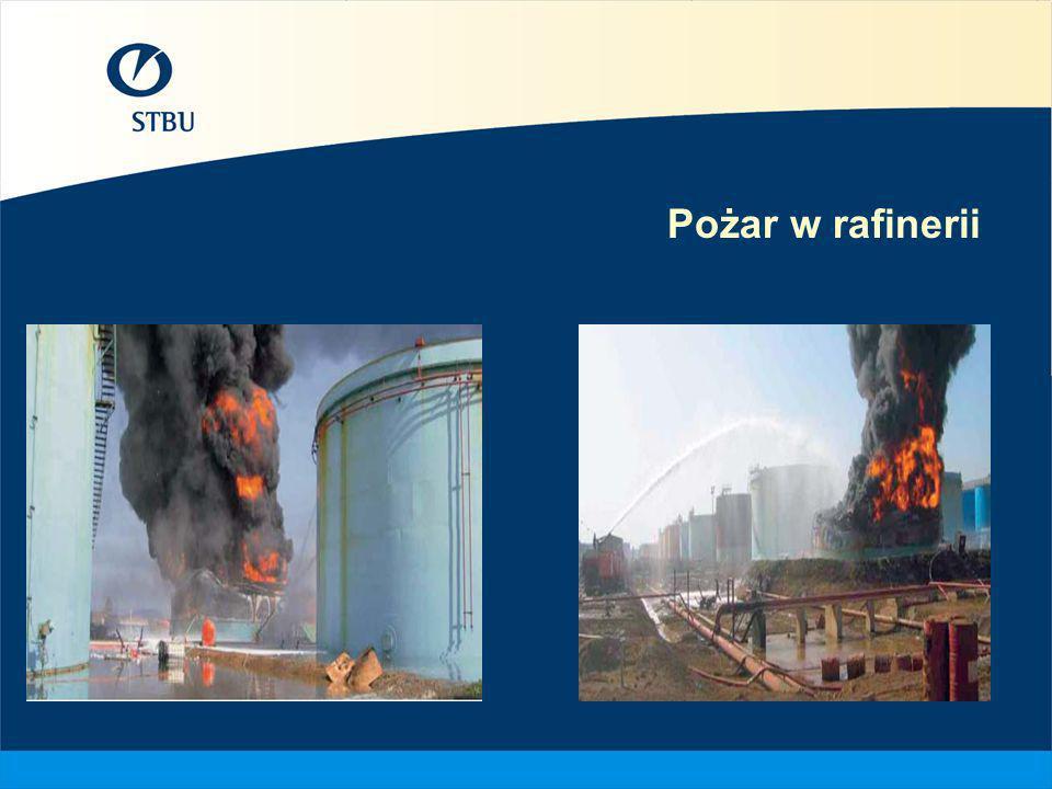 Pożar w rafinerii