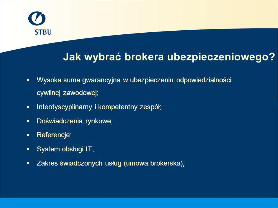 Jak wybrać brokera ubezpieczeniowego