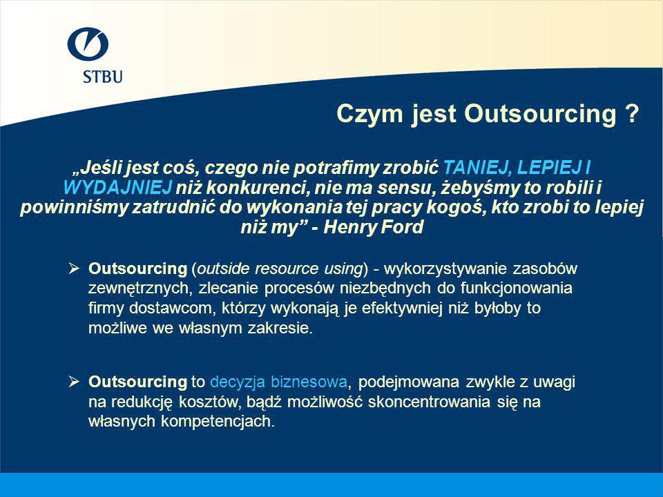 Czym jest Outsourcing