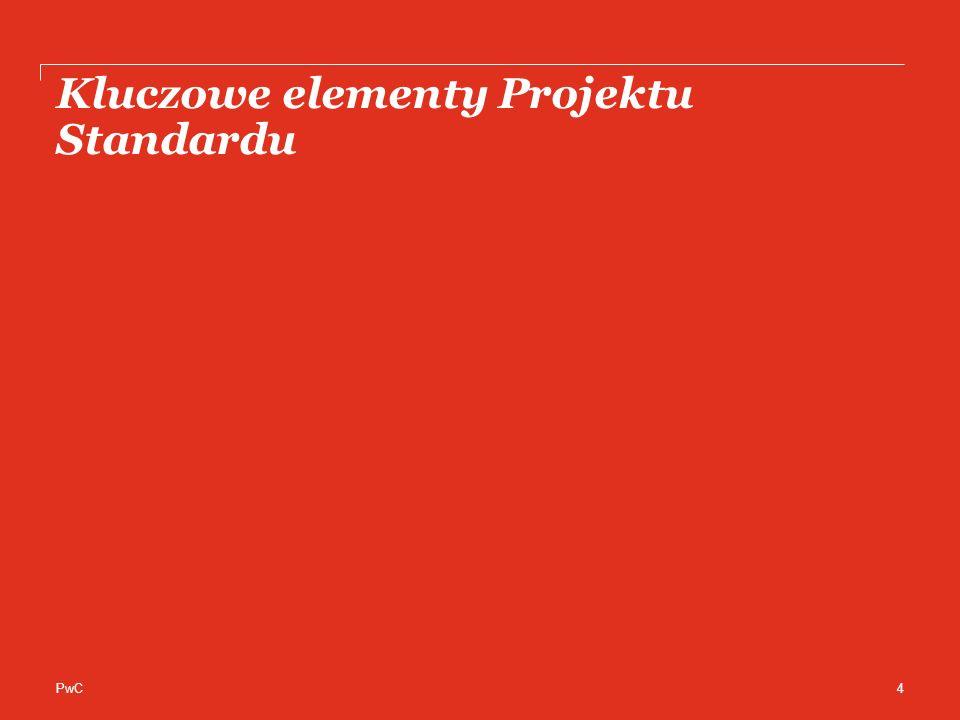 Kluczowe elementy Projektu Standardu