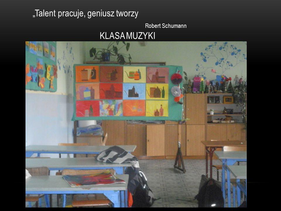 """""""Talent pracuje, geniusz tworzy"""