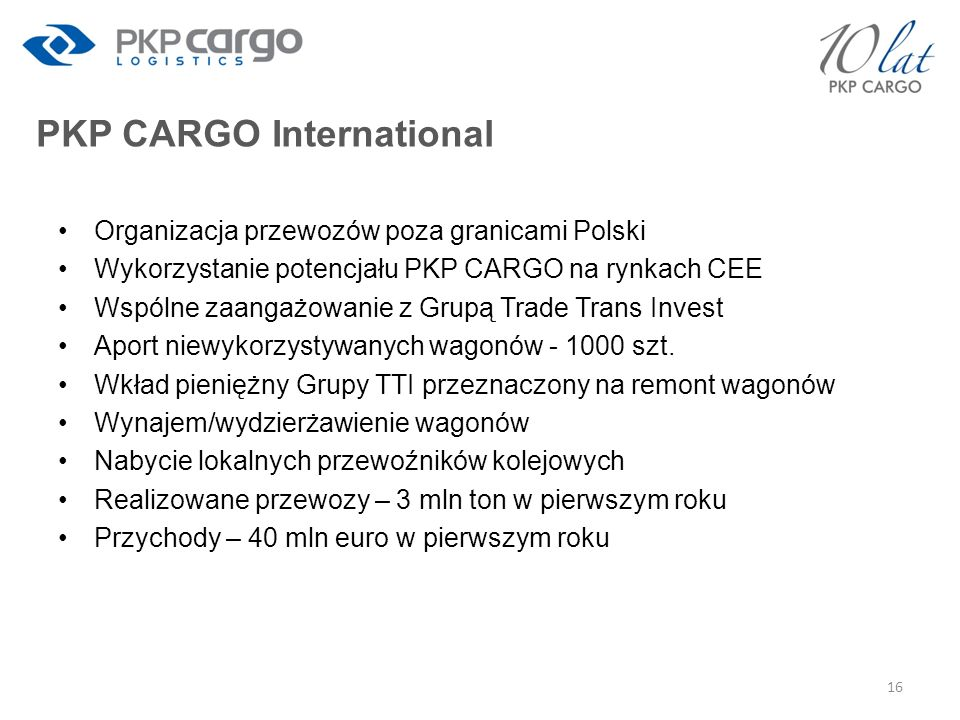 PKP CARGO International