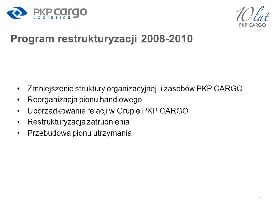 Program restrukturyzacji 2008-2010