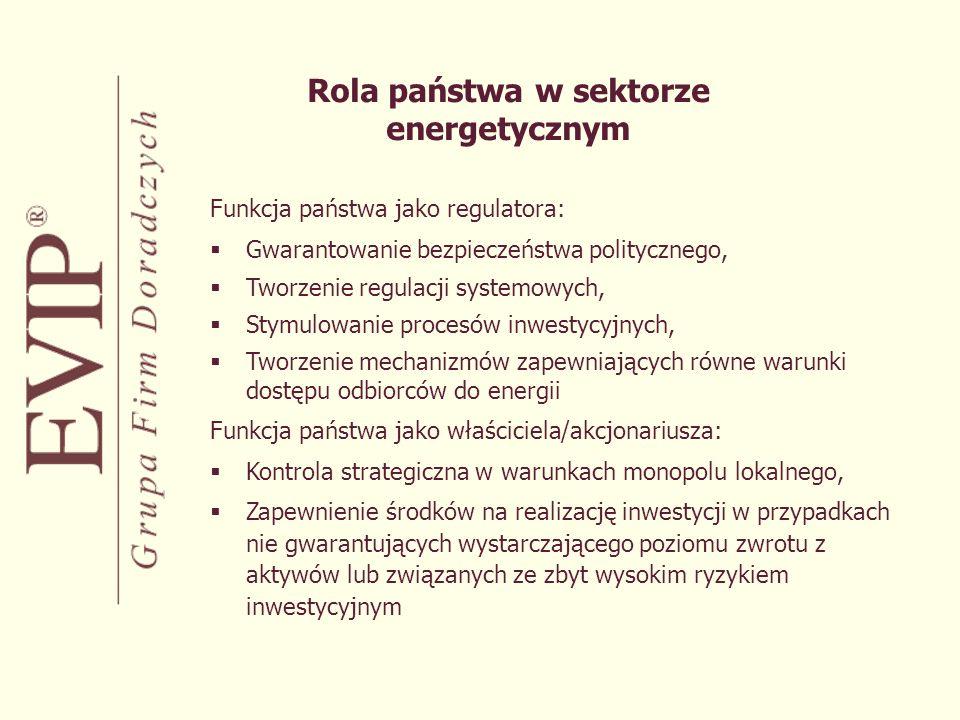 Rola państwa w sektorze energetycznym