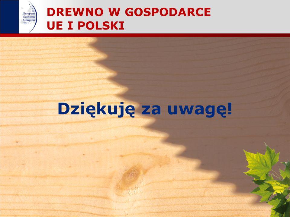 DREWNO W GOSPODARCE UE I POLSKI