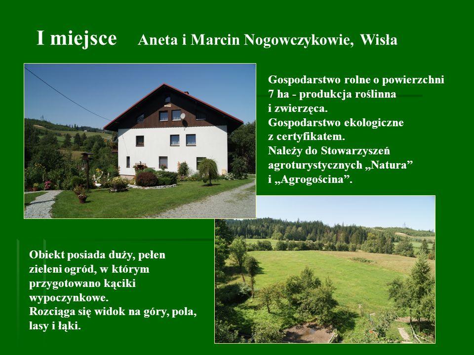 I miejsce Aneta i Marcin Nogowczykowie, Wisła
