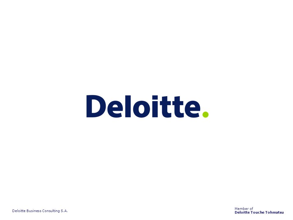 Deloitte Business Consulting S.A.